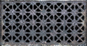 Ornate Ventilation Grill Royalty Free Stock Image