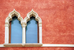 Ornate Verona Windows Stock Photography