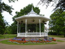 Ornate Victorian band stand Stock Images