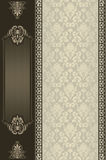 Ornate vintage background. Royalty Free Stock Images