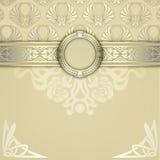 Ornate vintage background. Royalty Free Stock Photography