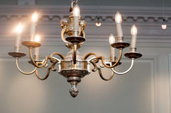 Ornate vintage chandelier Stock Photography