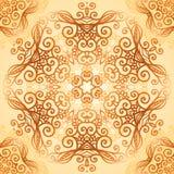 Ornate vintage circle pattern in mehndi style Stock Photo
