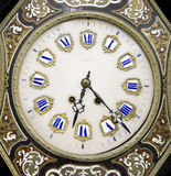 Ornate Vintage Close Up of Clock Face Royalty Free Stock Photo