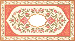 Ornate vintage floral background Royalty Free Stock Photography