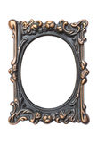 Ornate vintage frame isolated Stock Photography