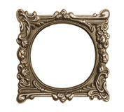 Ornate vintage frame isolated Royalty Free Stock Images