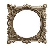 Ornate vintage frame isolated. On white background Royalty Free Stock Images