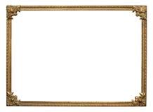 Ornate vintage frame. Ornate vintage metal photo frame Stock Photography