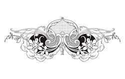 Ornate Vintage Frame Stock Photos