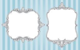 Ornate vintage frames Stock Photography