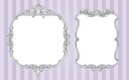 Ornate vintage frames Royalty Free Stock Image