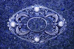 Ornate vintage grunge background Royalty Free Stock Photos