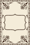 Ornate vintage page Royalty Free Stock Photos