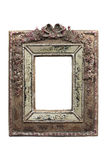 Ornate vintage picture frame. Clipping path. Ornate vintage picture frame isolate on white, with clipping path Stock Photos