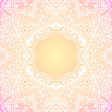 Ornate vintage vector background in mehndi style Royalty Free Stock Photos