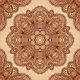 Ornate vintage vector napkin background Royalty Free Stock Photo