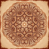 Ornate vintage vector napkin background Stock Photography