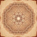 Ornate vintage vector napkin background Stock Images