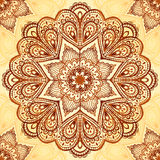 Ornate vintage vector napkin background Royalty Free Stock Photos