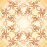 Ornate vintage vector pattern in mehndi style Royalty Free Stock Images