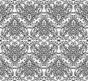 Ornate vintage vector seamless pattern Stock Photography