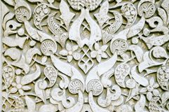 Ornate wall texture Royalty Free Stock Image