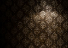 Ornate wallpaper royalty free stock image