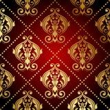 Ornate wallpaper Stock Image