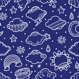 Ornate weather pattern Royalty Free Stock Photos