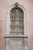 Ornate window in Como Royalty Free Stock Photo