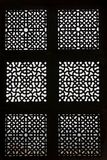 Ornate Window Screen Royalty Free Stock Image