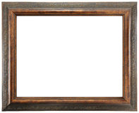 Ornate Wooden Frame Royalty Free Stock Photos