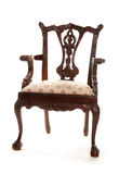 Ornate wooden vintage chair Royalty Free Stock Photo
