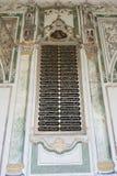 Ornate writings on wall of Topkapi Palace Stock Photo