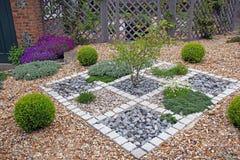 Ornate zen garden Stock Photos