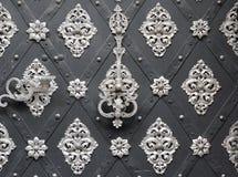 Ornated door Stock Image