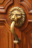 Ornated door hardware Stock Photo