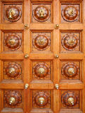 Doorway. Ornated door of the hindu temple Royalty Free Stock Image