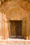 Ornated door Stock Photography
