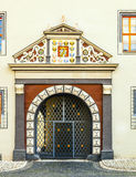 Ornated facade of the Anna Amalia Library in Weimar Royalty Free Stock Photography