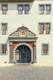 Ornated facade of the Anna Amalia Library in Weimar Stock Photography