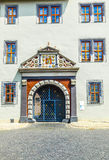 Ornated facade at the Duchess Anna Amalia Library in Weimar Stock Image