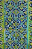 Ornated Fliesen, arabische Art Stockfoto