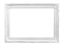 Ornated painted Picture Frame Royalty Free Stock Photography