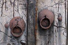 Ornated-Tür Stockbild