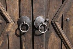 Ornated Tür stockfoto