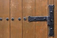 Ornated Tür lizenzfreie stockbilder