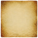 Ornated vintage square shaped paper sheet. Stock Images