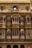 Ornately Sculptured Haveli, Jaisalmer, Rajasthan, India Stock Photography